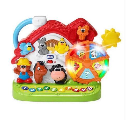 Brinquedo Nova Fazendinha Bilíngue - Chicco 96040