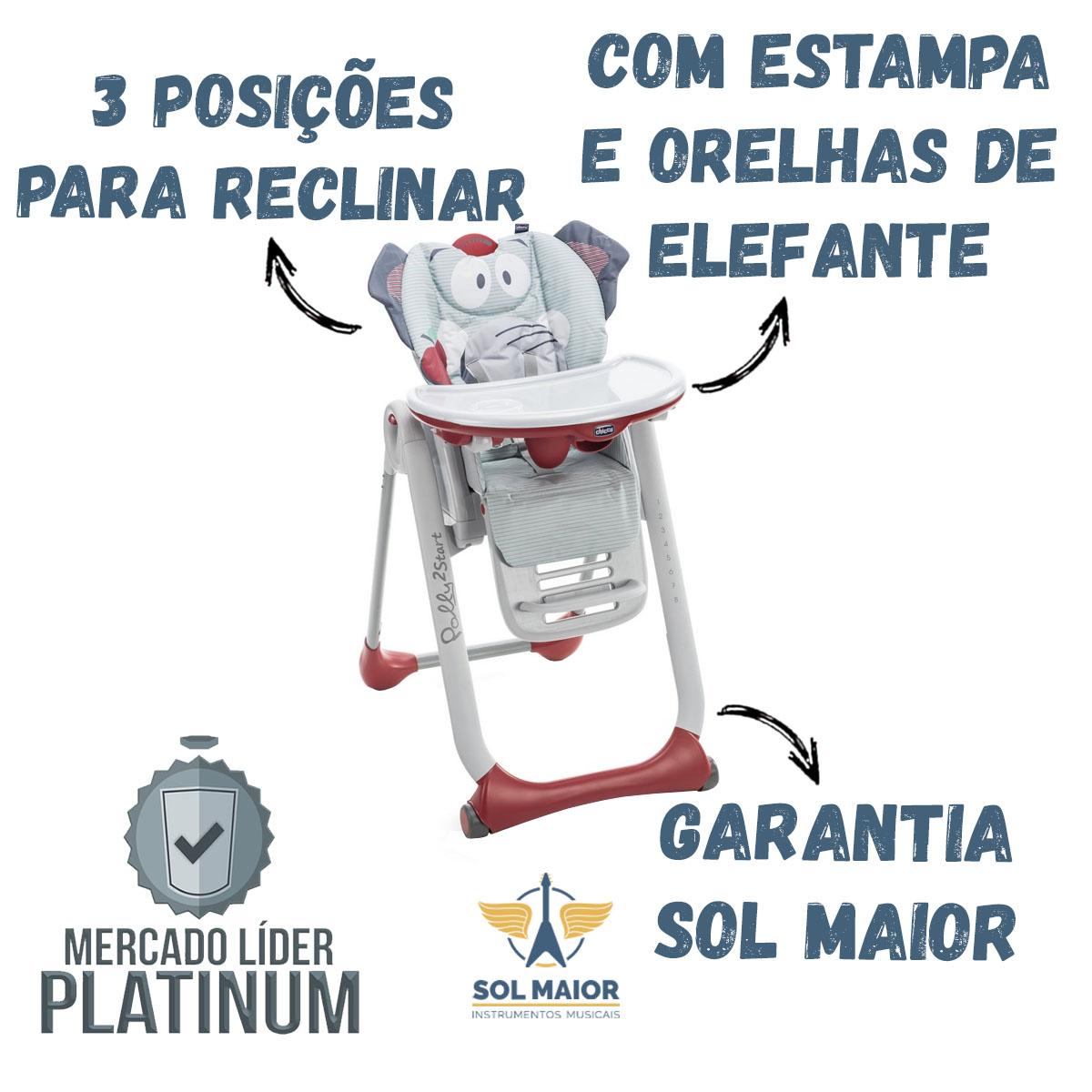 Cadeira De Papa Chicco Polly2start Elefante - Baby Elephant
