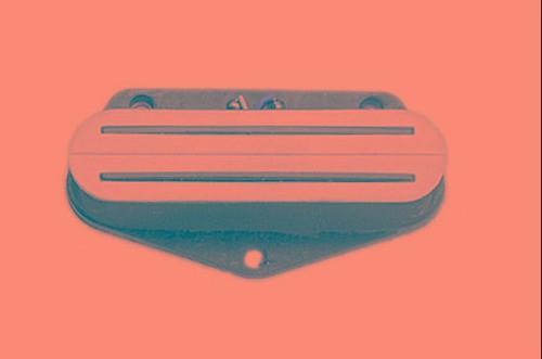 Captador Guitarra Tele Teh Ceramic Quick Lead Branco
