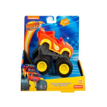 Carrinho Blaze Turbo Slam Go - Blaze e Crusher  Fisher Price