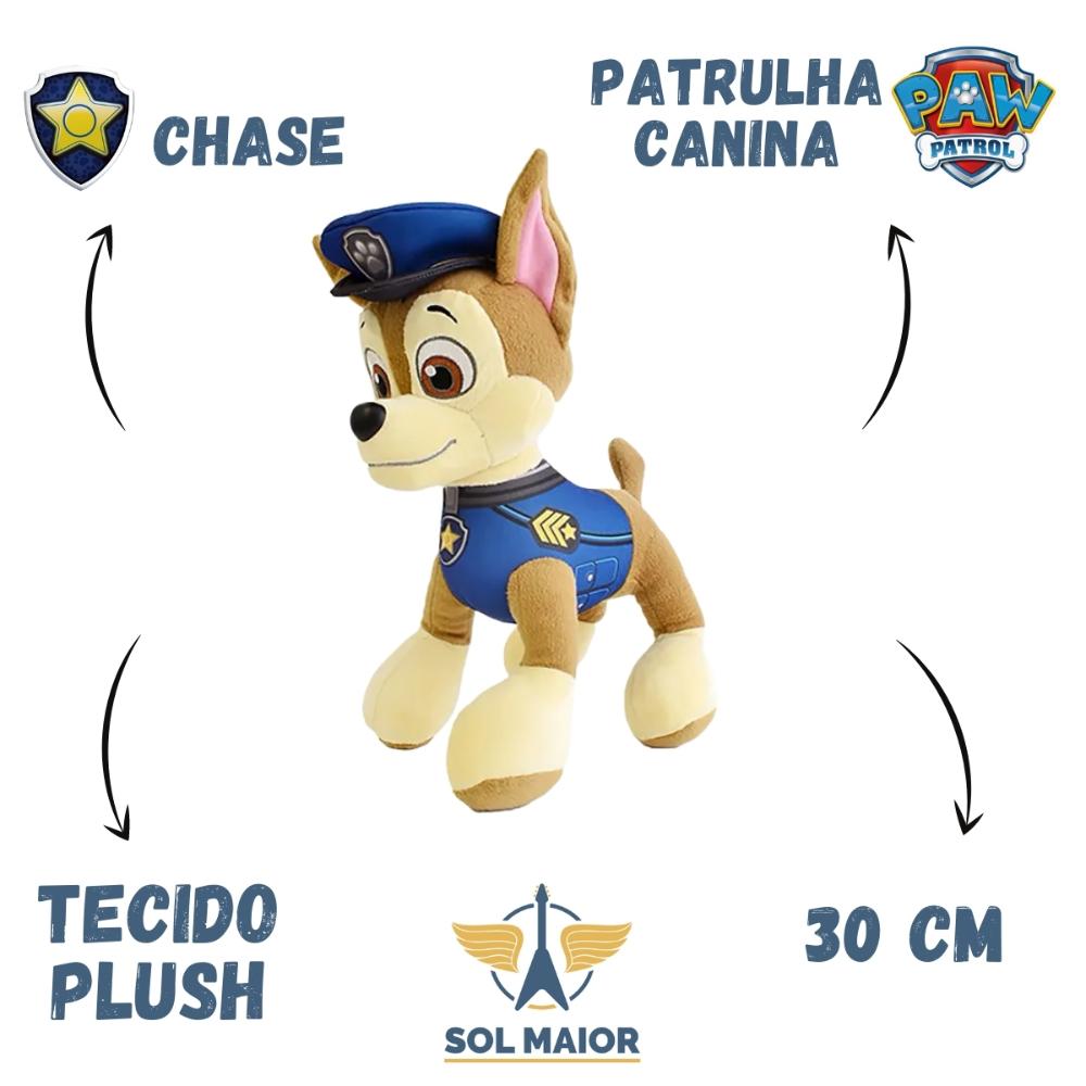 Chase de Pelúcia Patrulha Canina 30 cm - 1328 Sunny