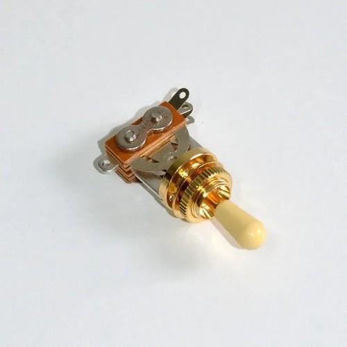 Chave Controlador Spirit 3 Posições Knob Dourada Btg - Gd Iv
