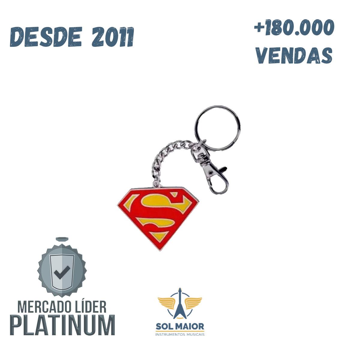 Chaveiro Geek Super Man - Zona Criativa