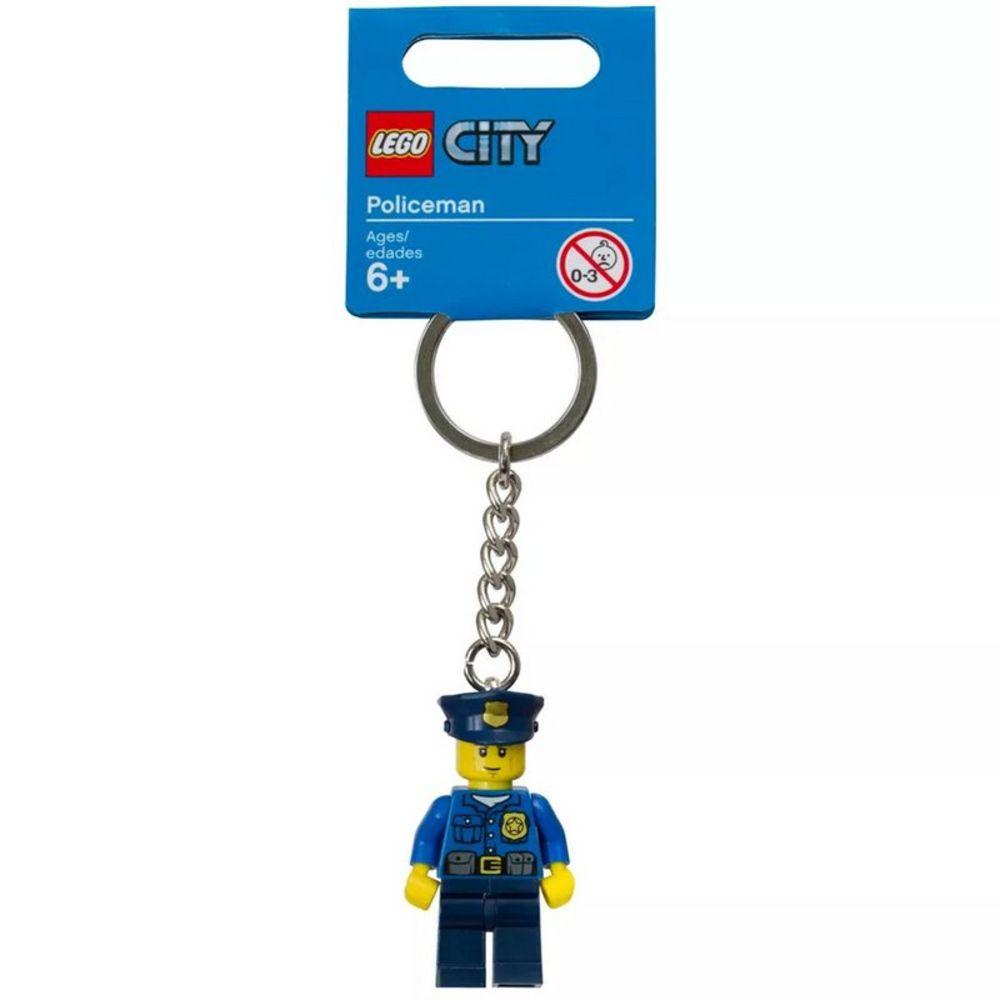 Chaveiro Lego Policia City V46