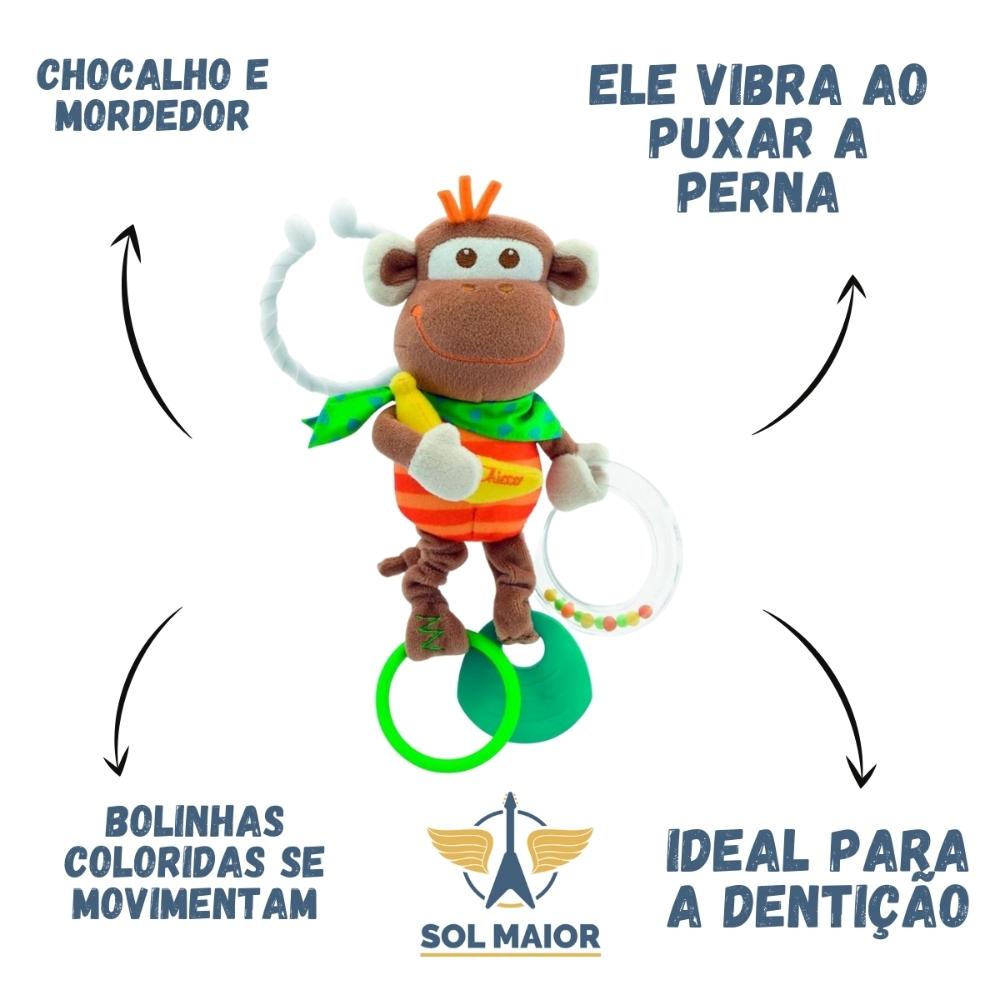 Chocalho E Móbile Macaquinho Treme-treme - Chicco