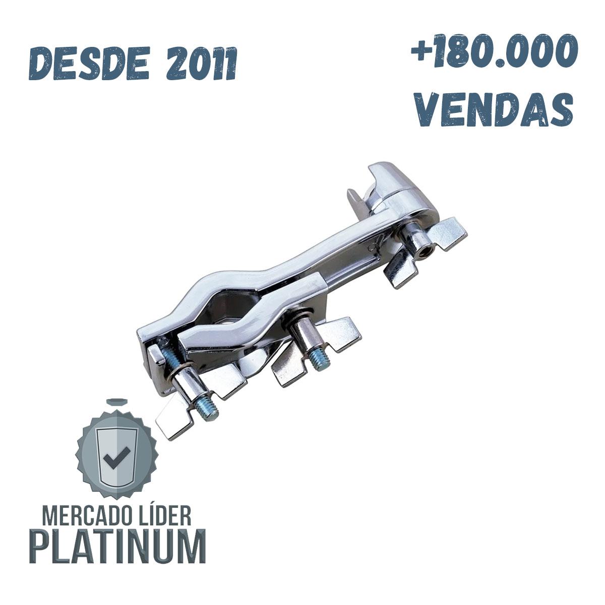 Clamp Universal Extensor de Prato Cromado Dolphin - 7489