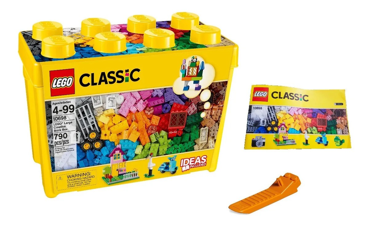 Combo Lego 10698 + Base Verde 10700