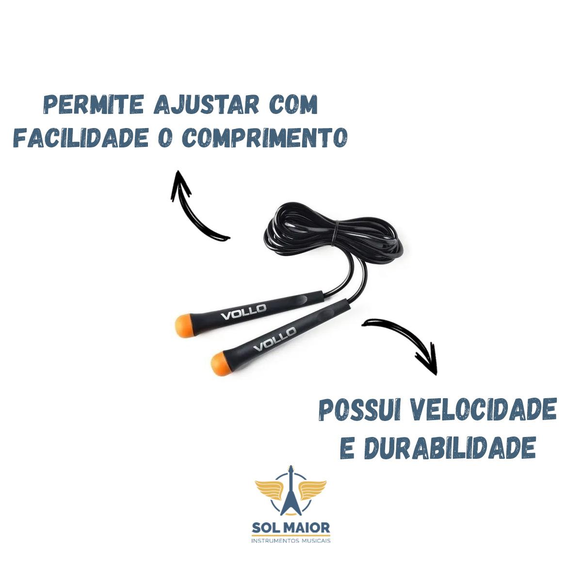 Corda de Pular de PVC Vollo 275 x 0.5 cm - VP1075