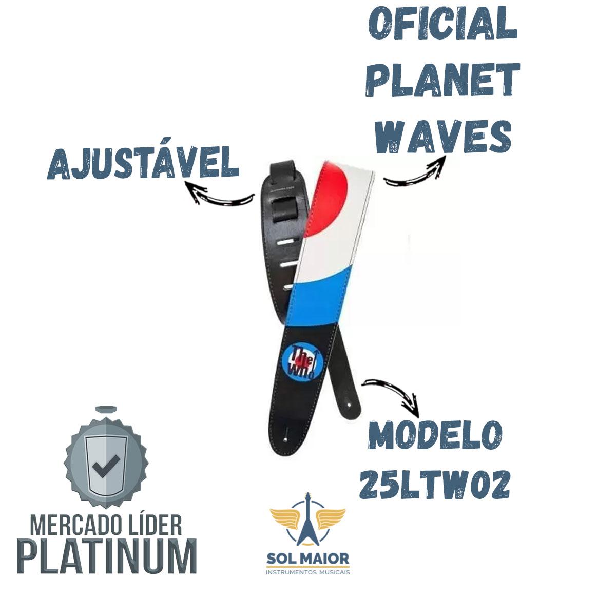 Correia Planet Waves De Couro The Who Bulls Eye 25ltw02