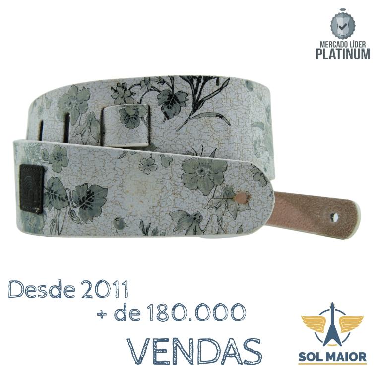 Correia Planet Waves Guitarra Distressed Floral 25DFL-01