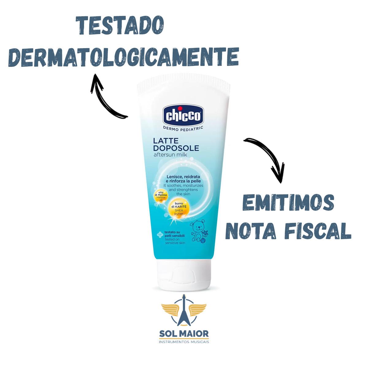 Creme Pós Sol Chicco 150ml Dermo Pediatra