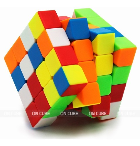 Cubo Mágico Profissional 4x4x4 Moyu Meilong Colorido V2