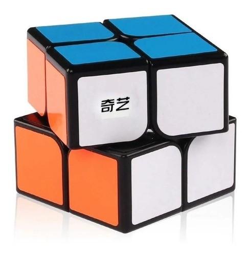 Cubo Mágico Profissional Qiyi Qidi 2x2x2 Preto Original