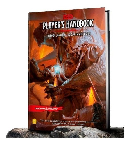 Dungeons & Dragons - Player's Handbook - Livro Do Jogador