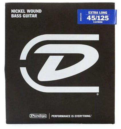 Encordoamento Dunlop 045 para baixo 5c MÉDIA - DBN45125 5828