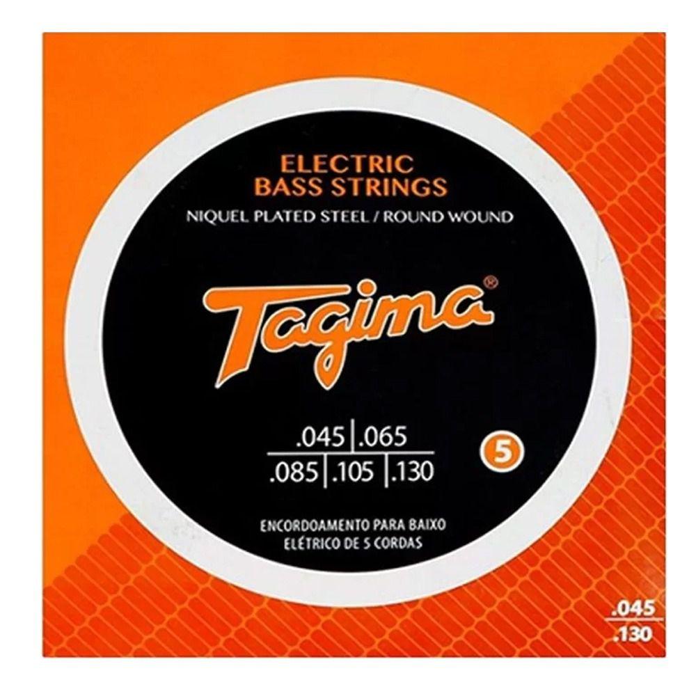 Encordoamento Tagima P/ Baixo Tcb-545 5 Cordas .045 - Ec0409