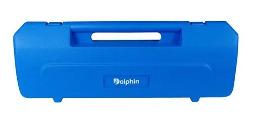 Escaleta 37 Teclas Estojo Bocais Dolphin Azul Super Afinada