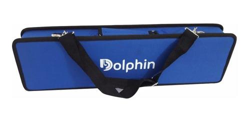 Escaleta Dolphin 37 Teclas Com Semi Case Azul - 6721