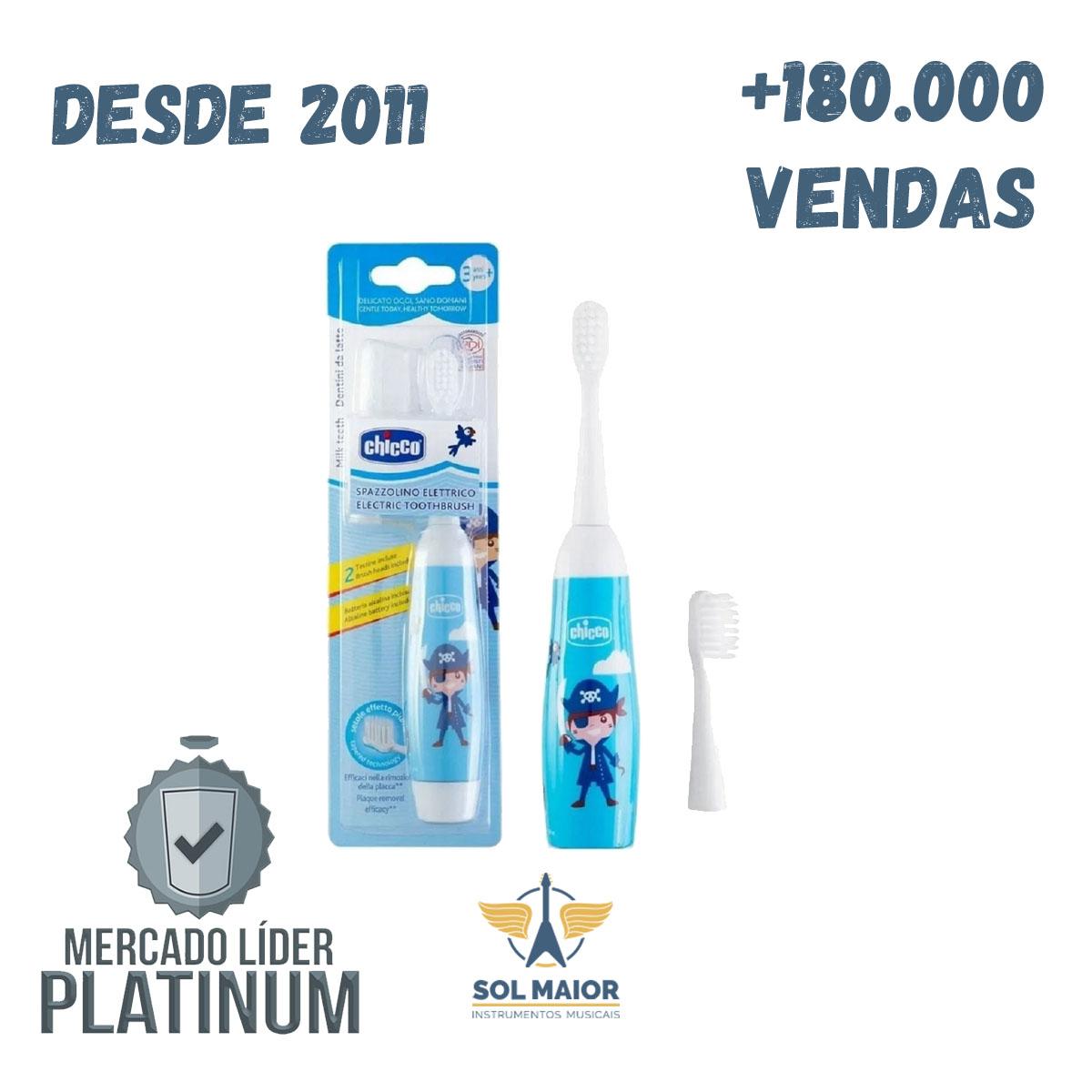 Escova De Dentes Elétrica Azul - Chicco