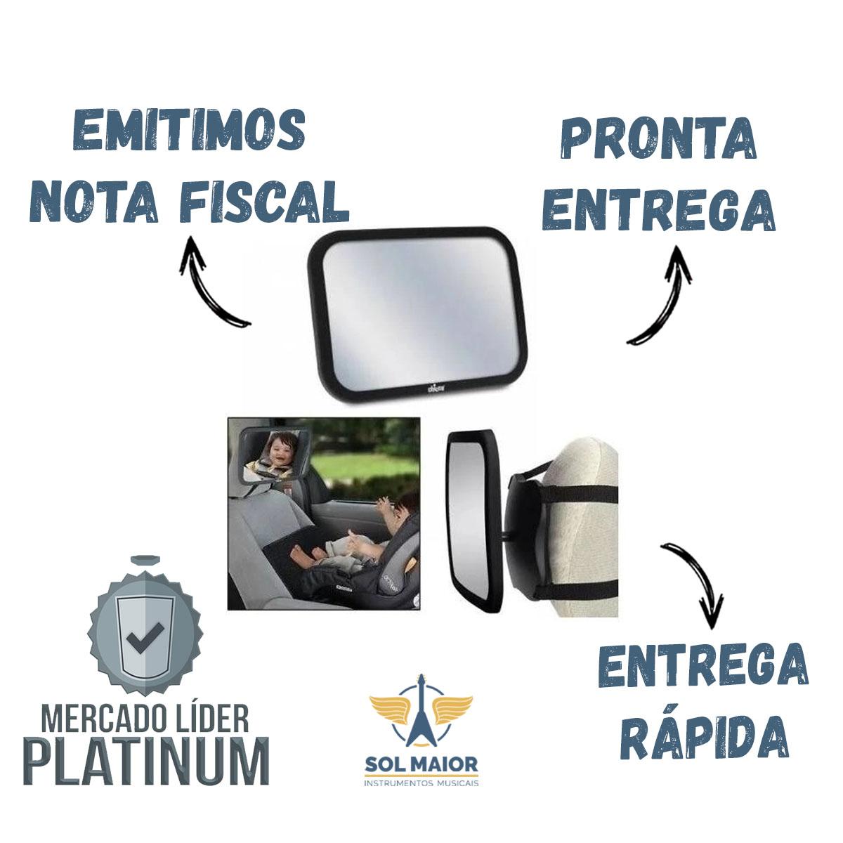 Espelho Retrovisor Infantil Vigia Bebê Banco Carro Traseiro