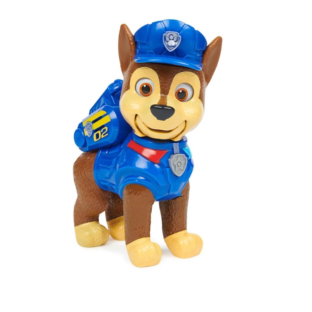 Figura Interativa Patrulha Canina O Filme - Chase ou Skye