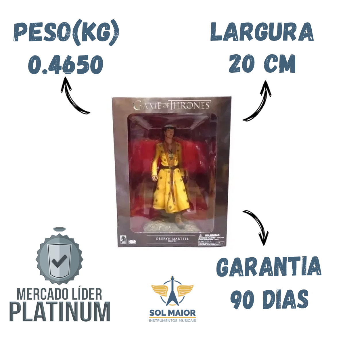 Figure - Game Of Thrones - Oberyn Martell - Dark Horse