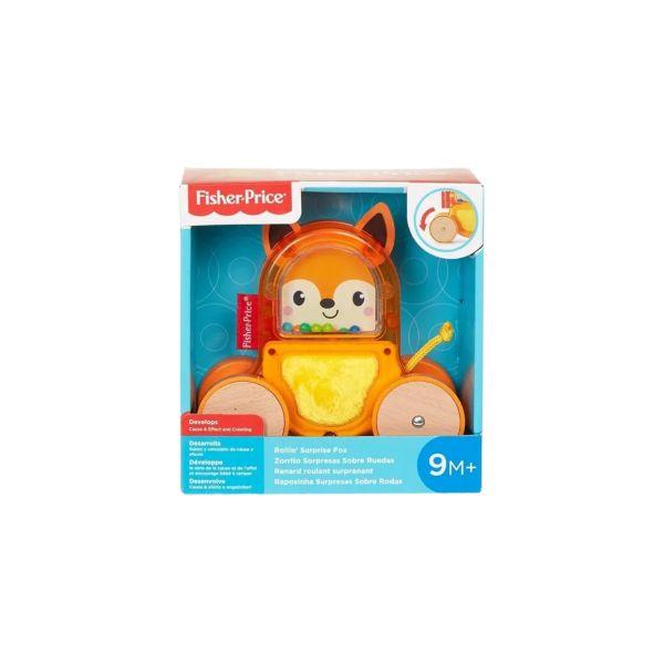Fisher Price Animais Sobre Rodas - Carrinho Raposa - Mattel