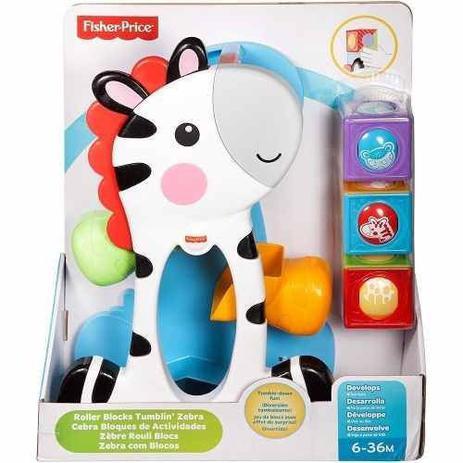 Fisher Price Brinquedo encaixar Blocos Surpresa Zebra CGN63