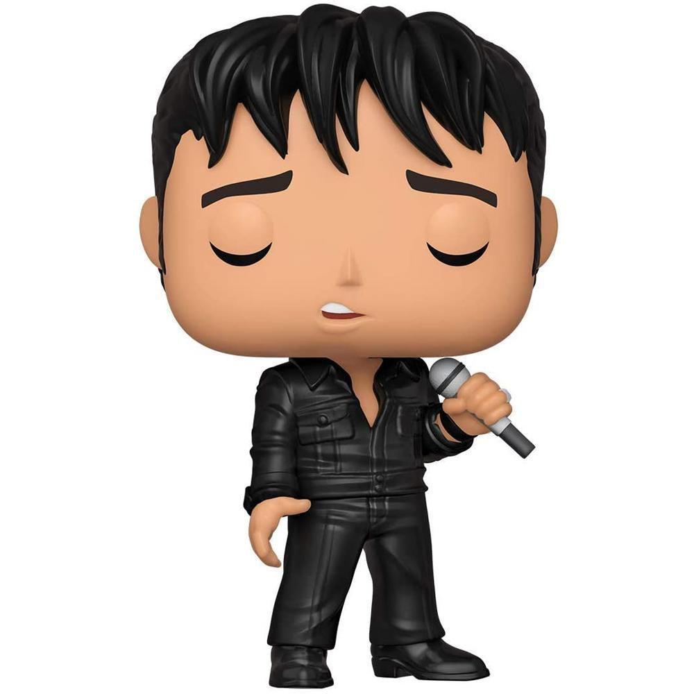 Funko Pop Rocks Elvis Presley 68 Comeback Special 188