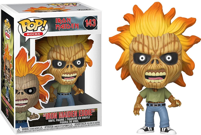 Funko Pop Rocks Iron Maiden Eddie 143