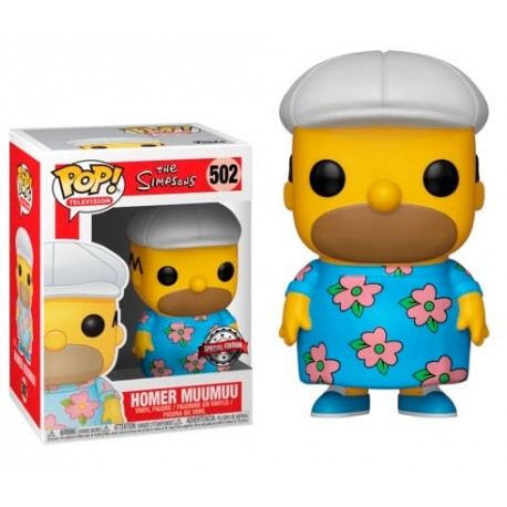 Funko The Simpsons Homer MuuMuu 502