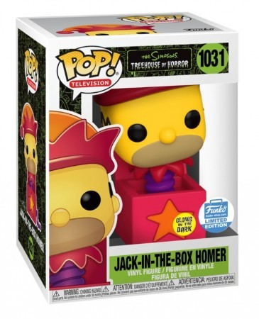 Funko The Simpsons Tree House Of Horror - Homer Jack 1031