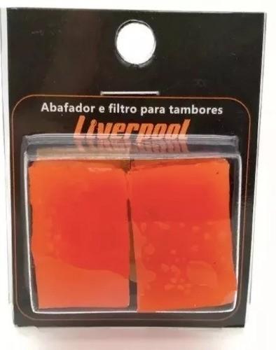 Gel Abafador E Filtro P/ Tambores Li Gel Liverpool
