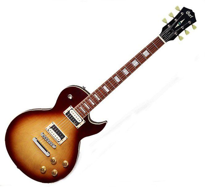 Guitarra Cort Cr300 Atb Aged Vintage Burst