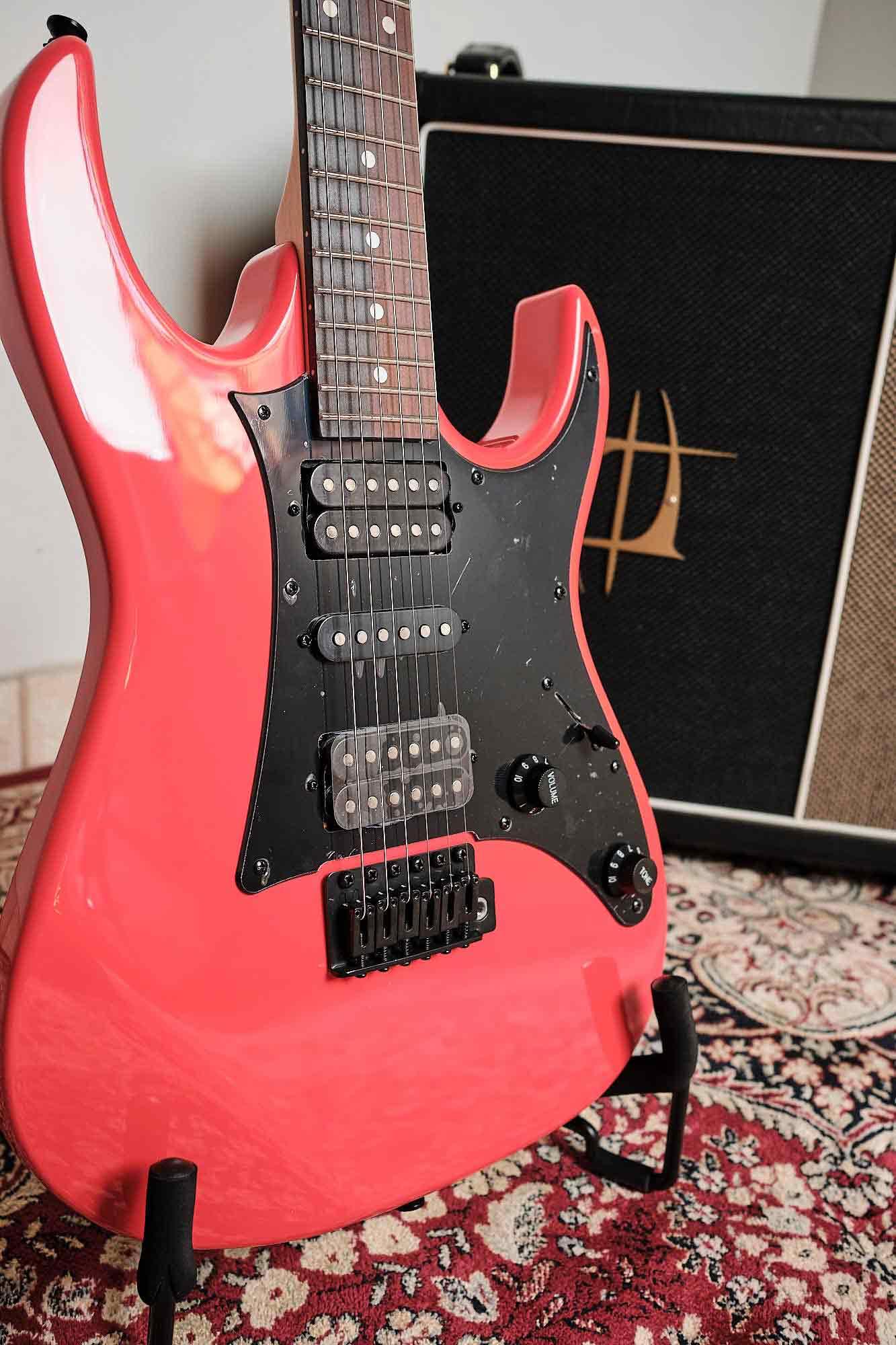 Guitarra Elétrica Ibanez Grx 55b Vrd