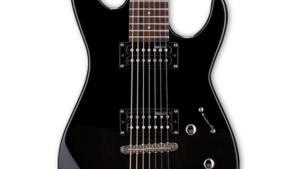 Guitarra Eletrica LTD M17 ESP LM17V 7 Cordas Satin Black