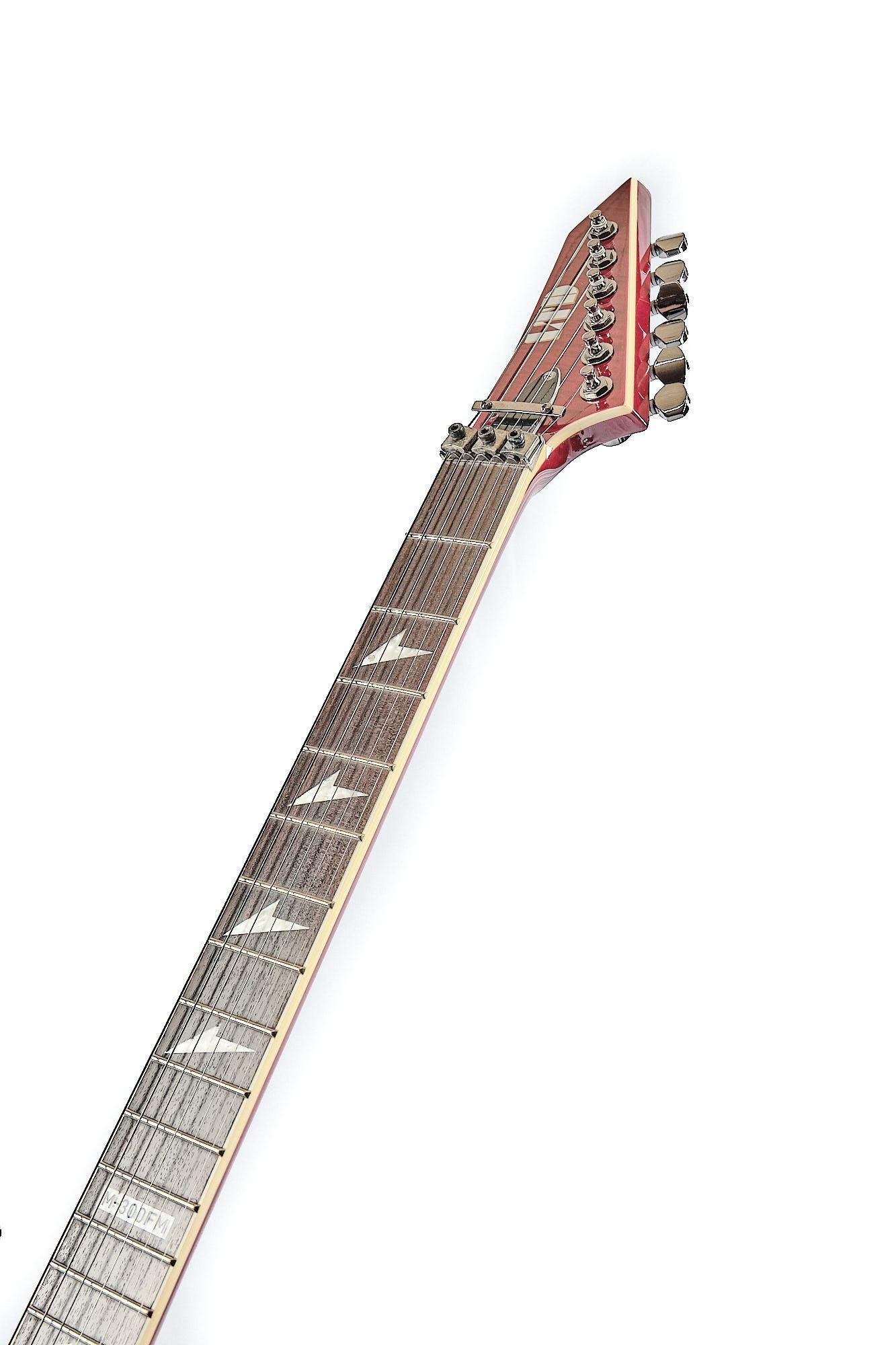 Guitarra Esp Ltd M-300 Fm See Thru Black Cherry