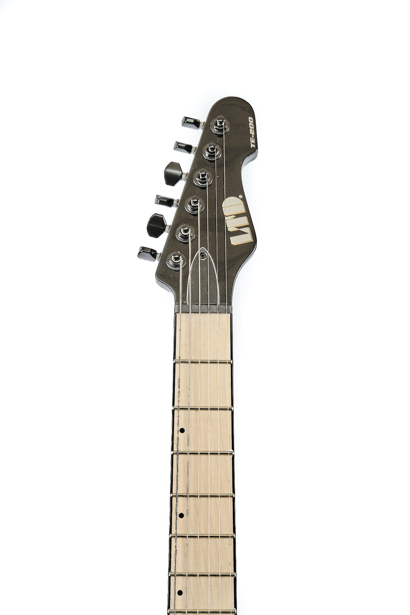Guitarra Esp Ltd Te200m Telecaster Hh Mogno Black