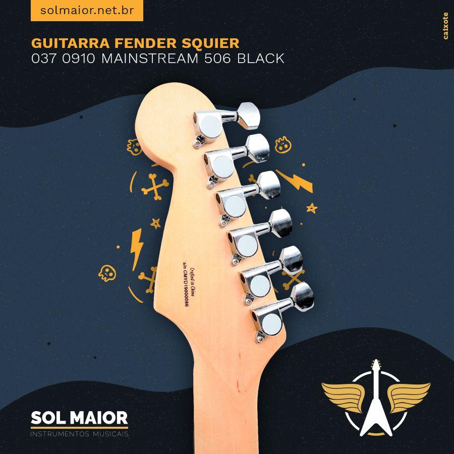 Guitarra Fender Squier 037 0910 Mainstream 506 Black