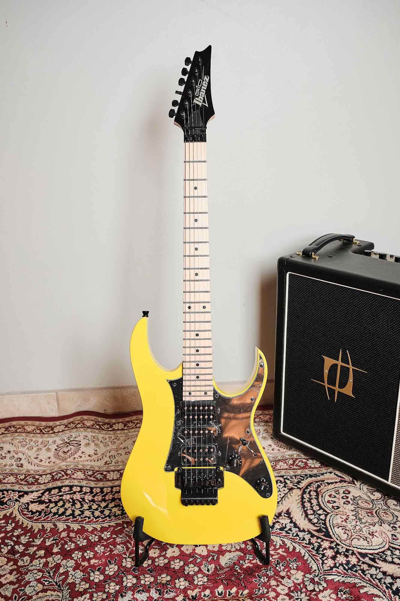 Guitarra Ibanez Grg 250m Ye Serie Gio Braço Maple / X7