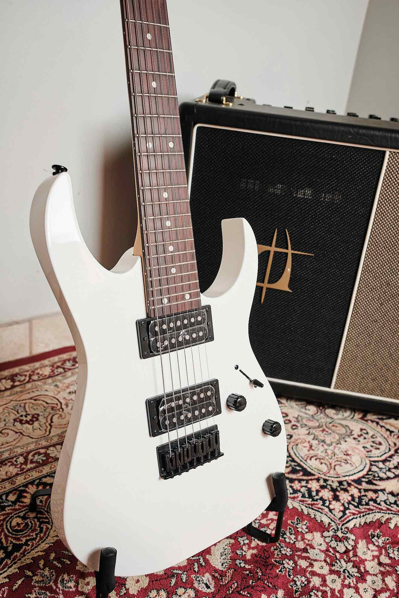 Guitarra Ibanez Grg 7221 Wh 7 Cordas