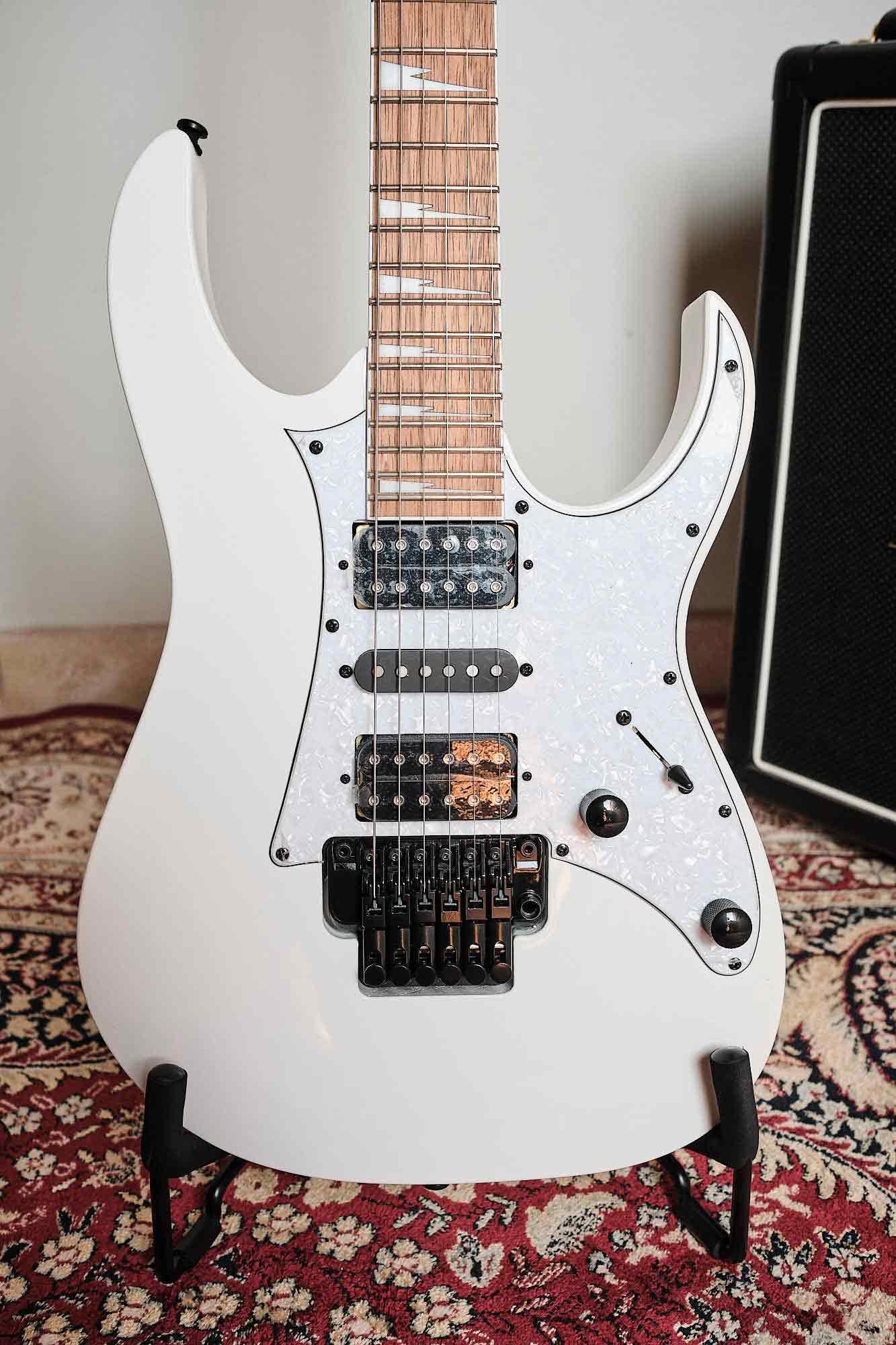 Guitarra Ibanez Rg 350 Dxz White Branca Floyd Rose
