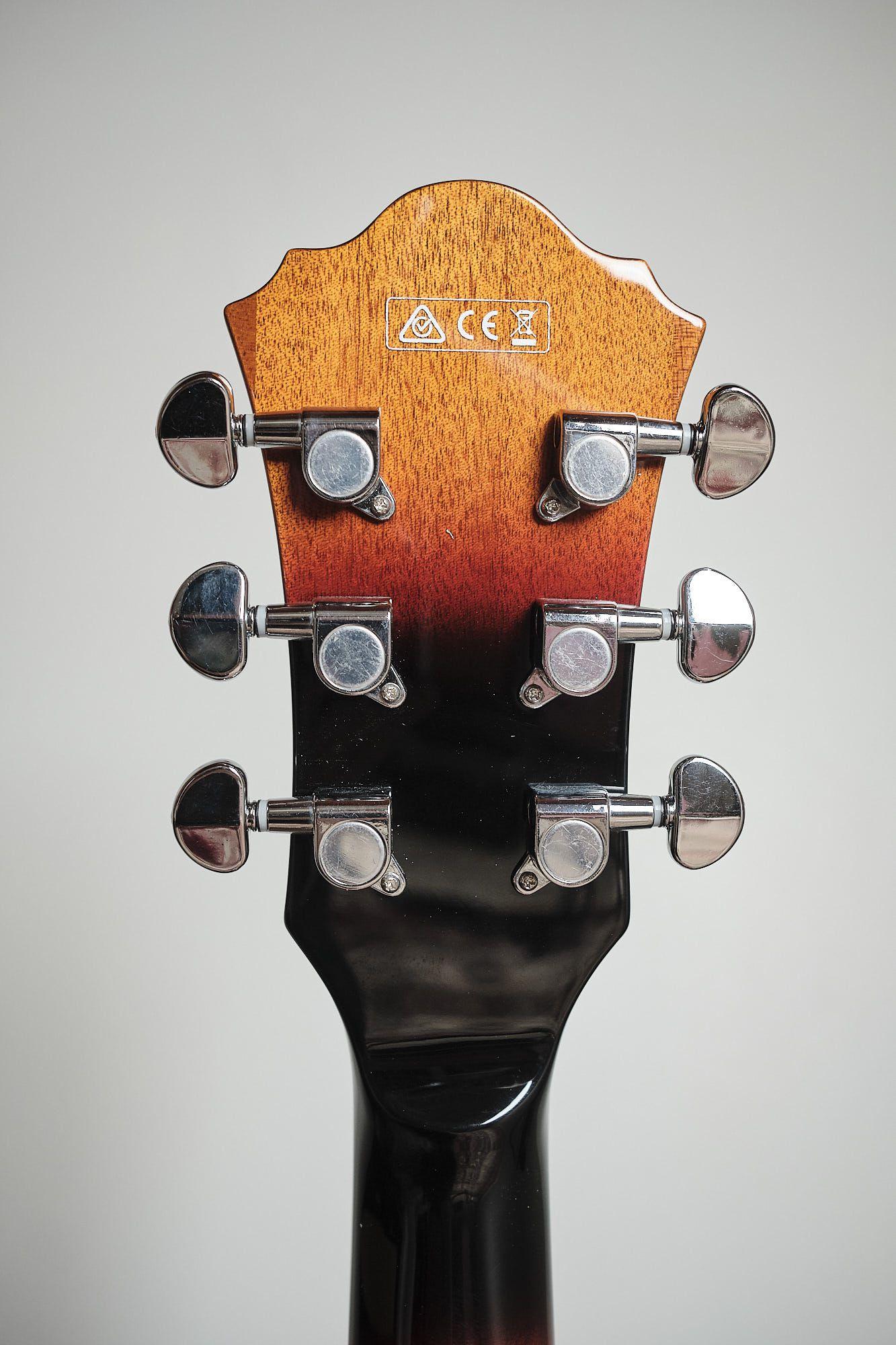 Guitarra Ibanez Semi Acustica Af 75 Bs
