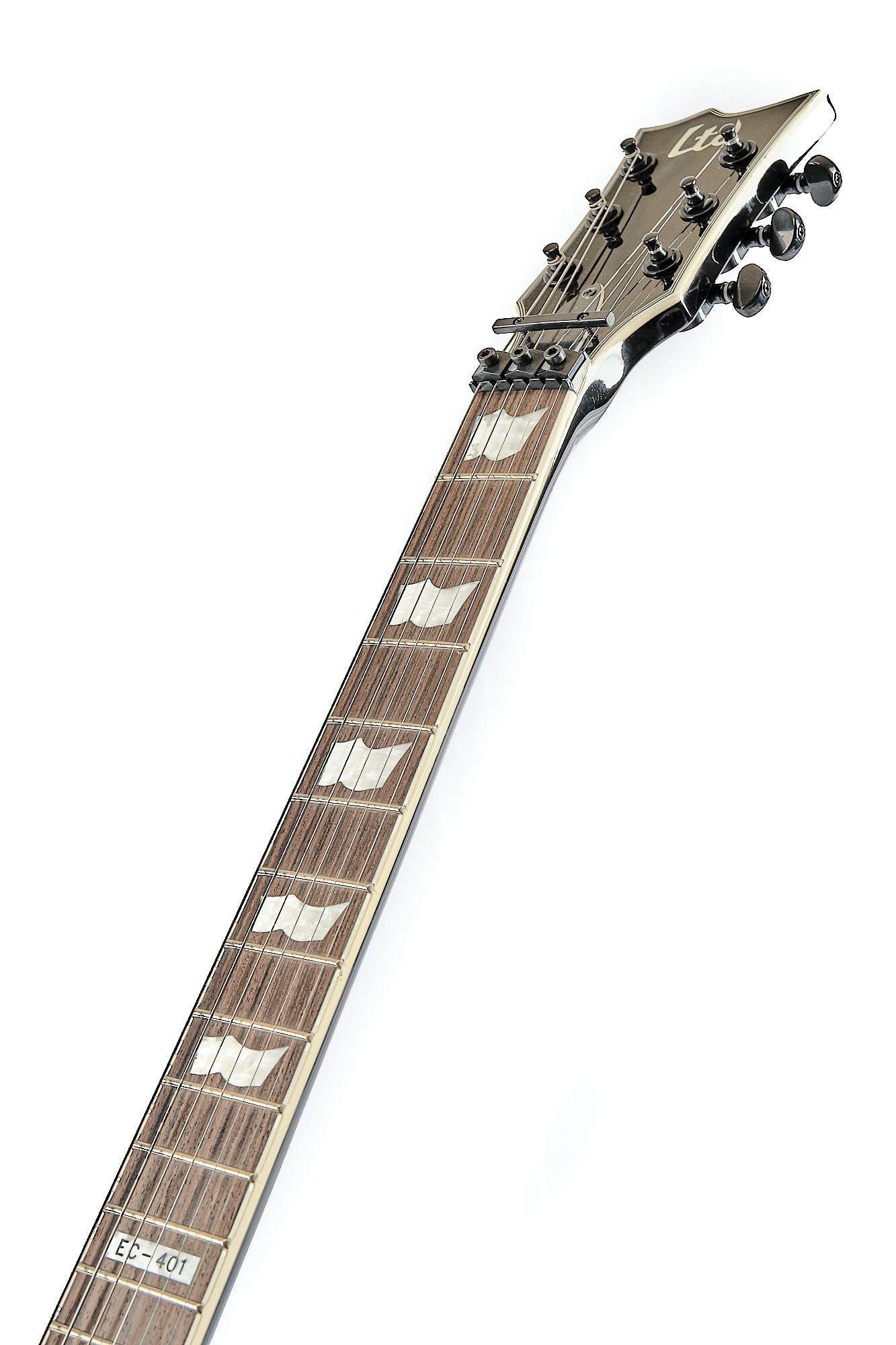 Guitarra Les Paul Ltd Fr 401 Black Original Com Emg Ativo