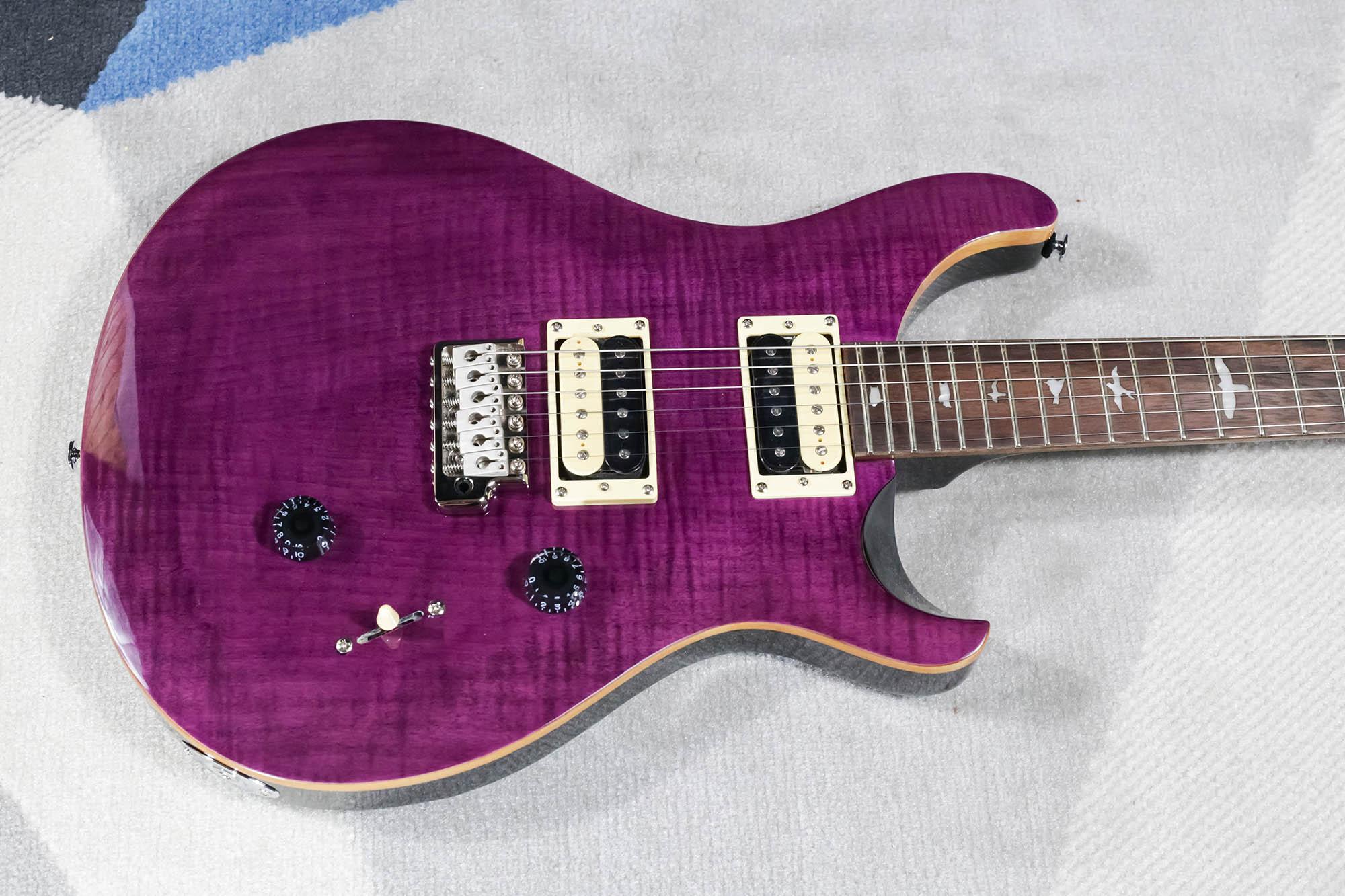 Guitarra PRS CU4 SE CUSTOM 24 Amethyst