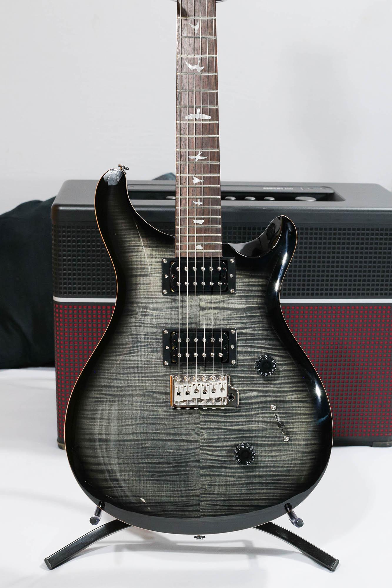 Guitarra Prs Cu4 Se Custom 24 - Faded Grey Black Burst