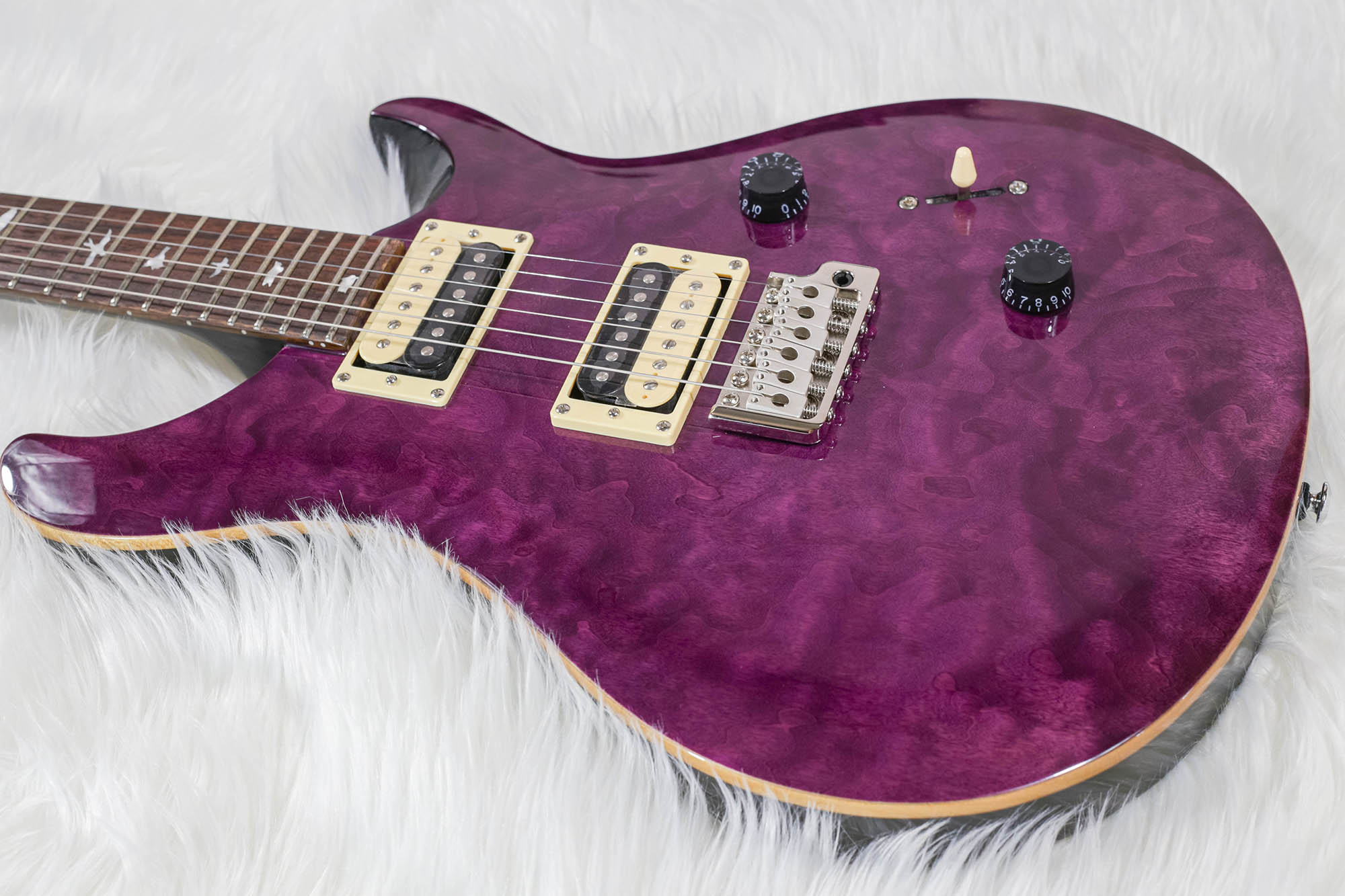 Guitarra Prs Cu4q Se Custom 24 Quilted Top - Amethyst