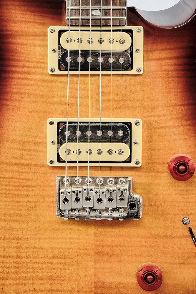Guitarra Prs Se Custom 24 Ts Pcu 4 -2018- Tabacco Sunburst