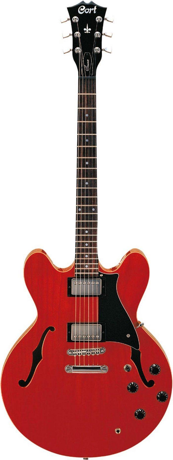 Guitarra Semi Acústica Cort Source Semi-Acustica Cr Com Bag