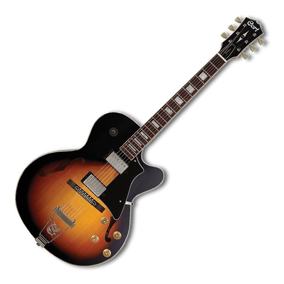 Guitarra Semi Acústica Cort Yorktown Tab Sunburst